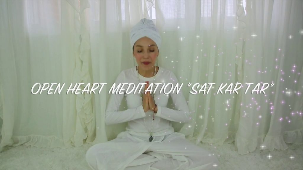 Open to Love Meditation – Sat Kartar Mantra